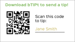 Btipt place employee qr codes in rooms on stickers or business cards colourmoves